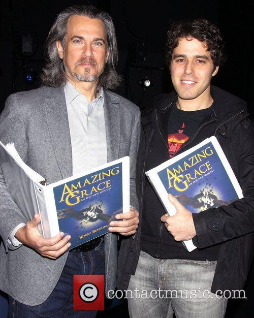 Robby Benson and Josh Young 6