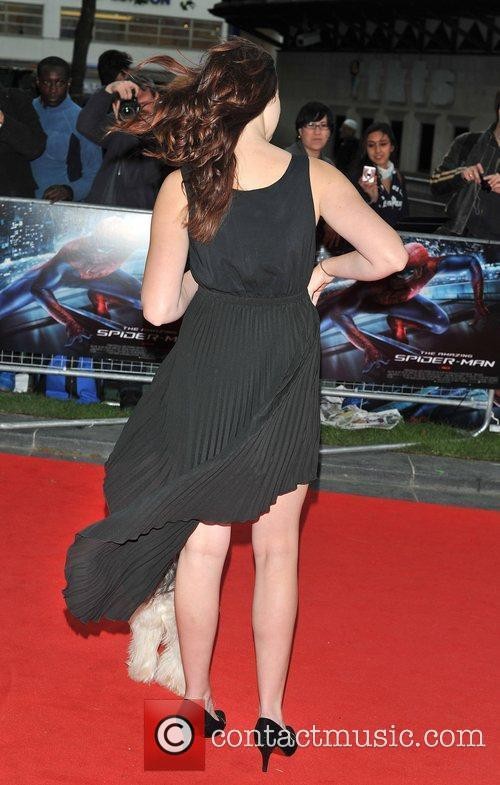 Ashleigh Butler The Amazing Spider-Man Gala Premiere held...