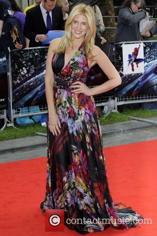 Francesca Hull,  The Amazing Spider-Man Gala Premiere...