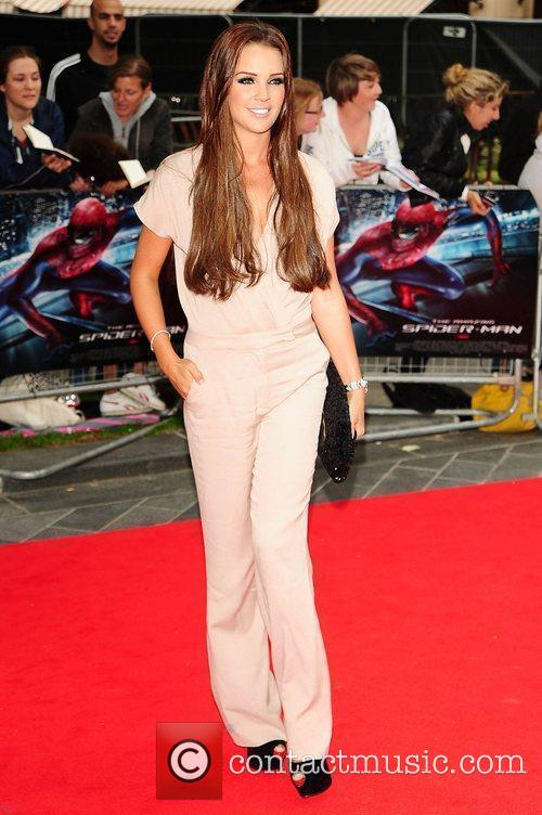 Danielle Lloyd, Spider Man and Odeon Leicester Square 1