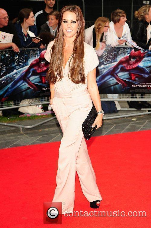 Danielle Lloyd, Spider Man, Odeon Leicester Square