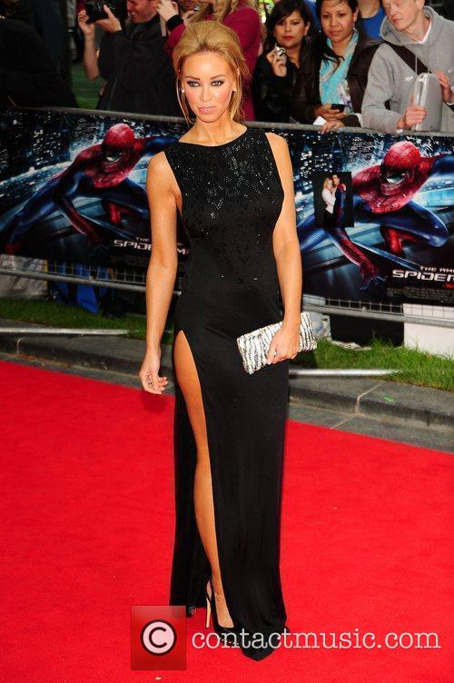 Lauren Pope, Spider Man and Odeon Leicester Square 2