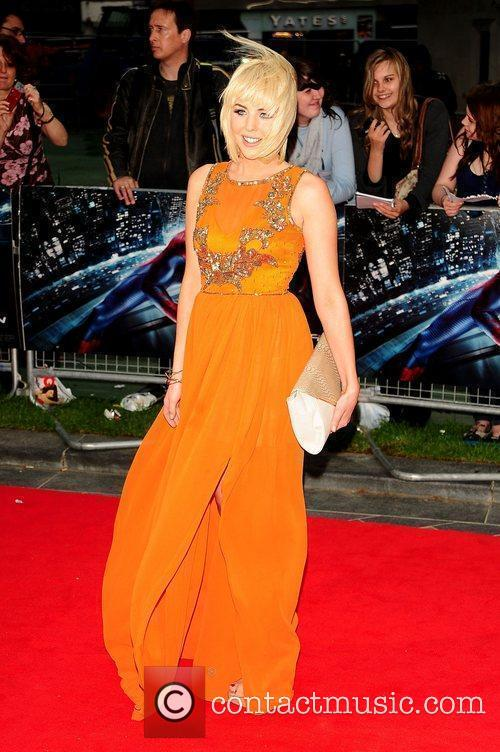 Lydia Bright, Spider Man and Odeon Leicester Square 2