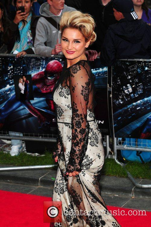 Sam Faiers, Spider Man, Odeon Leicester Square