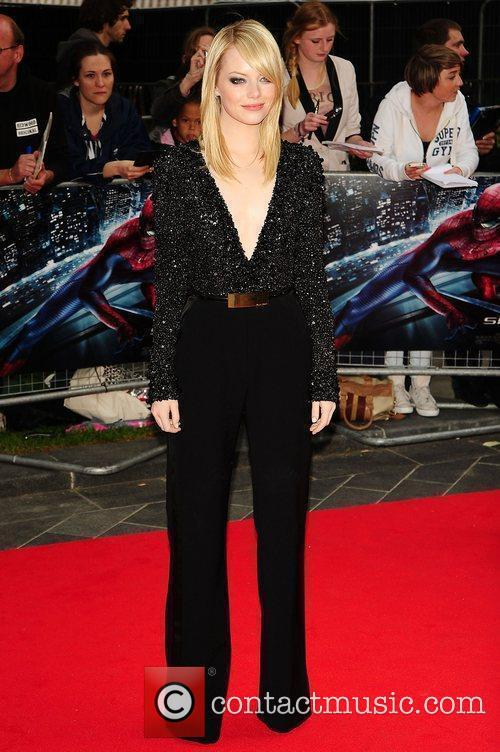 Emma Stone, Spider Man and Odeon Leicester Square 2