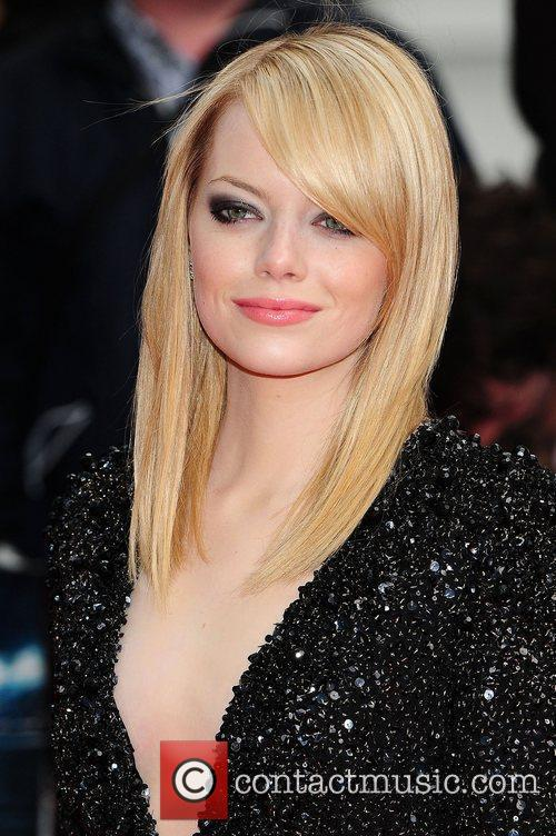Emma Stone, Spider Man and Odeon Leicester Square 3
