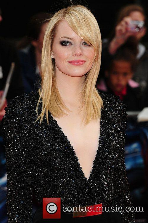 Emma Stone, Spider Man and Odeon Leicester Square 4