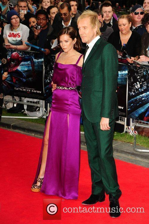 Rhys Ifans, Anna Friel, Spider Man and Odeon Leicester Square 2