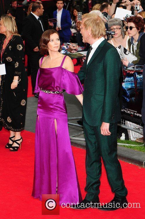 Rhys Ifans, Anna Friel, Spider Man and Odeon Leicester Square 3