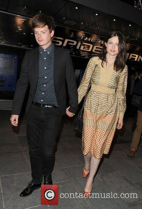 Sophie Ellis-Bextor, Richard Jones, Spider Man, Odeon Leicester Square