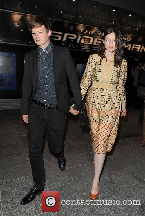 Sophie Ellis-bextor, Richard Jones, Spider Man and Odeon Leicester Square 3