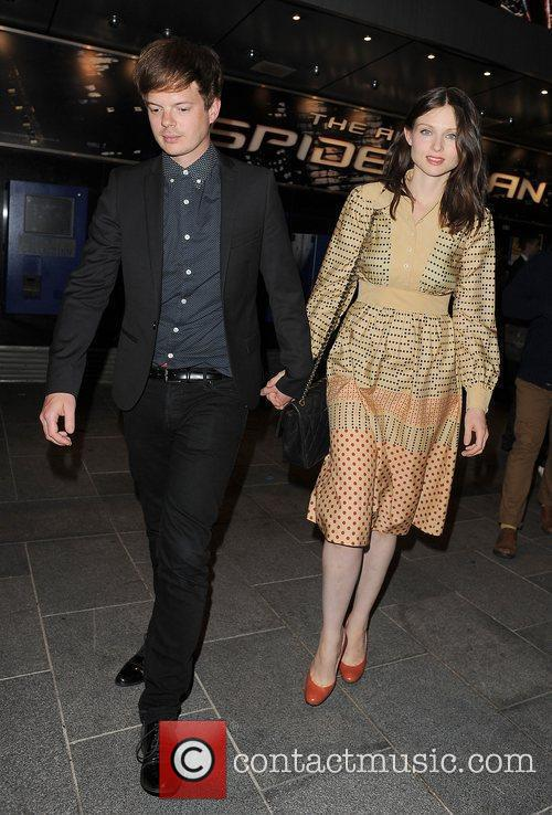 Sophie Ellis-bextor, Richard Jones, Spider Man and Odeon Leicester Square 4