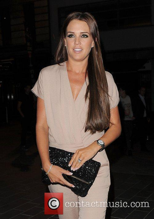 Danielle Lloyd, Spider Man and Odeon Leicester Square 8