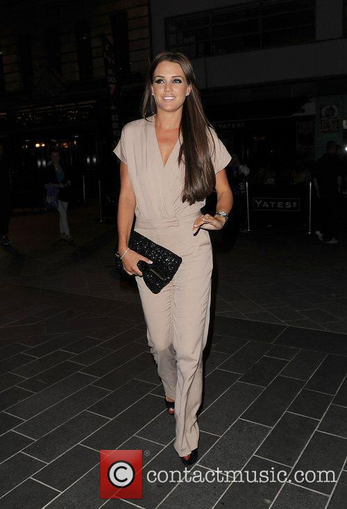Danielle Lloyd, Spider Man and Odeon Leicester Square 11