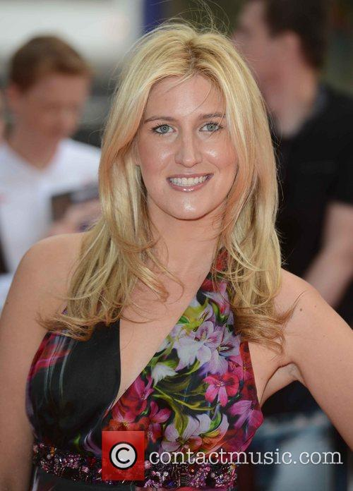 Cheska Hull at the premiere of The Amazing...