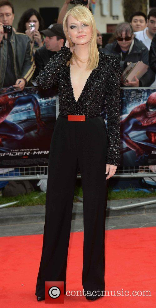 Emma Stone, Spider Man and Odeon Leicester Square 1