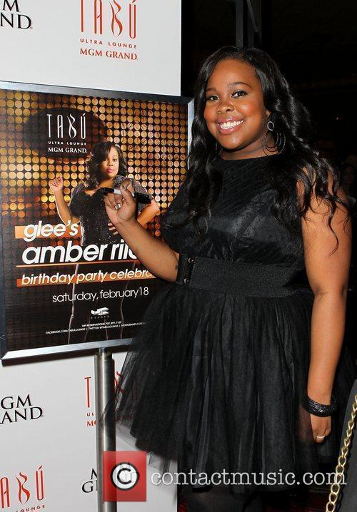 Amber Riley and Tabu Ultra Lounge 2