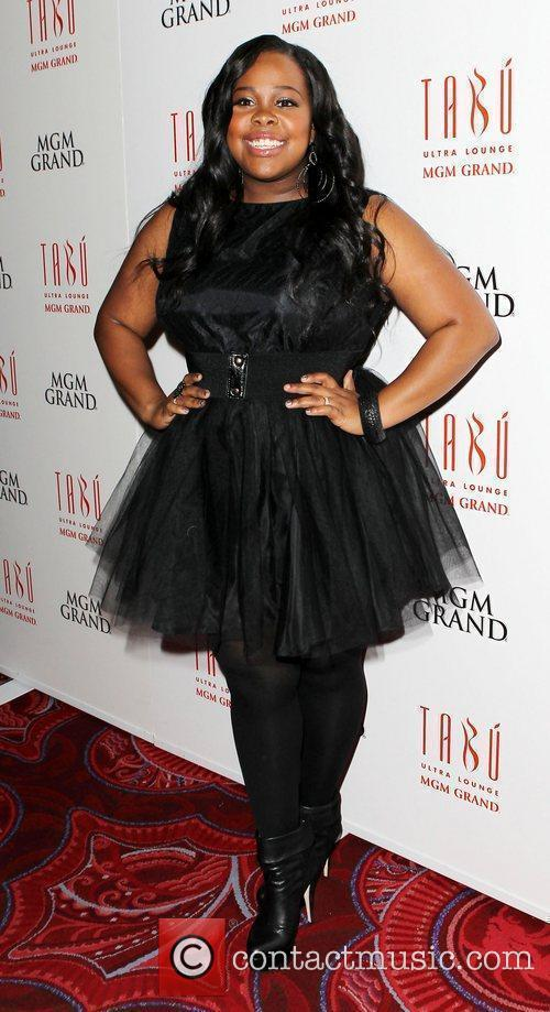Amber Riley and Tabu Ultra Lounge 5