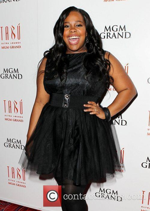 Amber Riley and Tabu Ultra Lounge 1