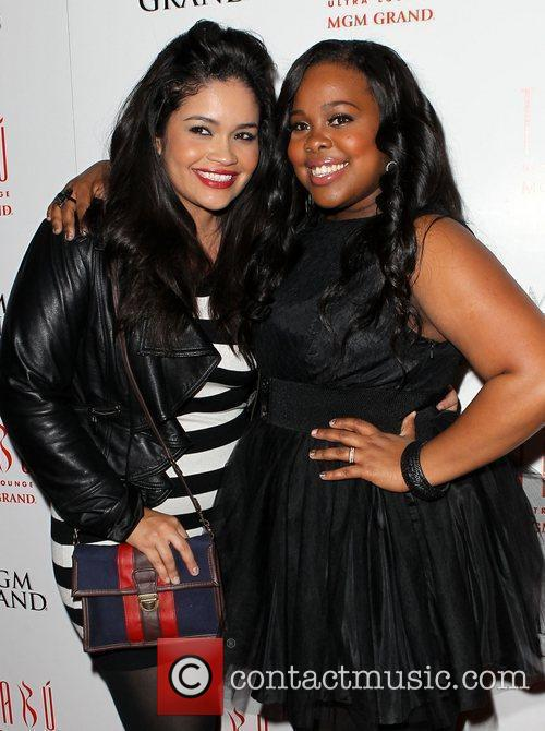 Amber Riley and Tabu Ultra Lounge 6