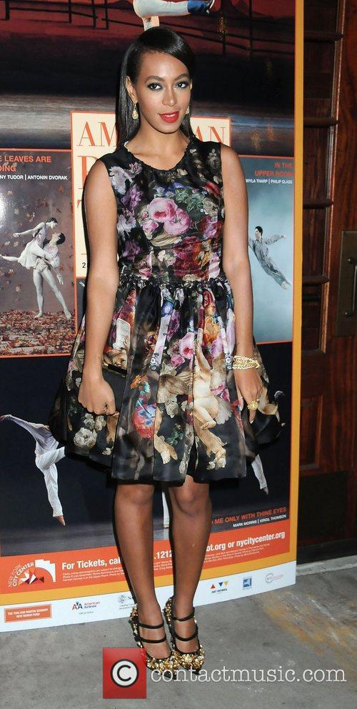 Solange Knowles  American Ballet Theatre Opening Night...