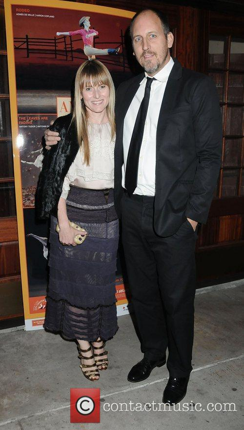 Amy Astley and husband Chris  American Ballet...