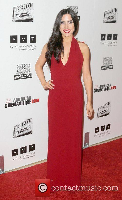 Karen Brooks at the 26th American Cinematheque Award...