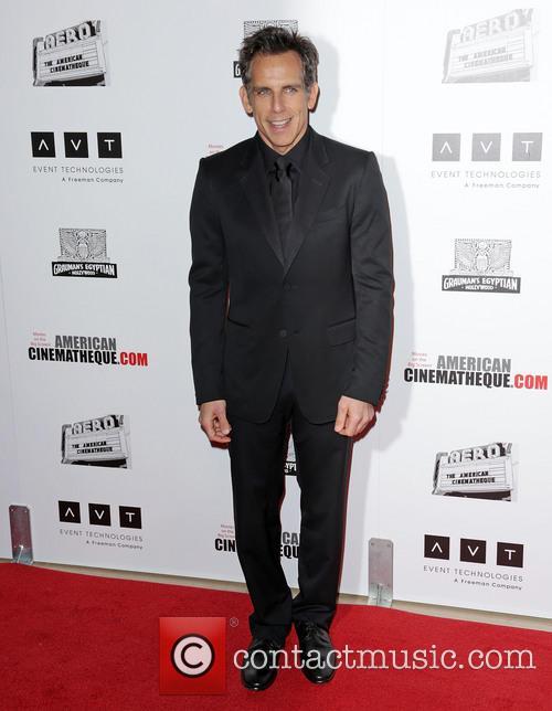 American Cinematheque Award Gala, Ben Stiller and The Beverly Hilton Hotel 3