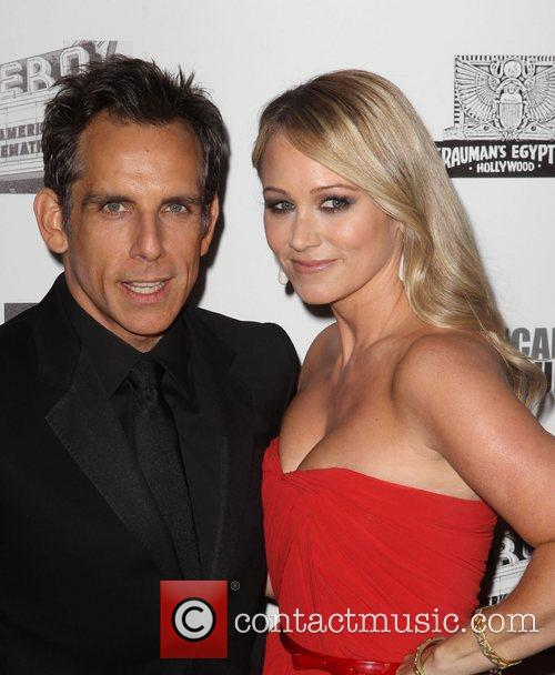 Ben Stiller and Christine Taylor 6