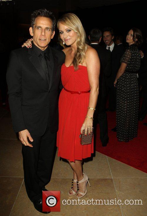 Ben Stiller and Christine Taylor 8