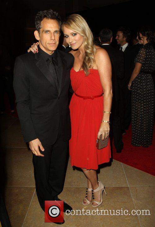 Ben Stiller and Christine Taylor 5