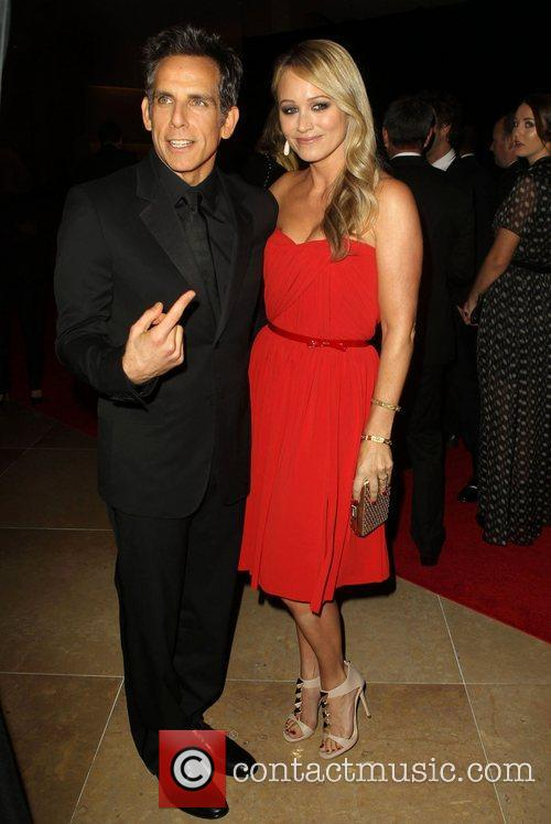 Ben Stiller and Christine Taylor 7