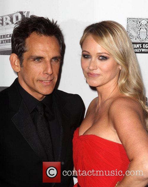 Ben Stiller and Christine Taylor 3