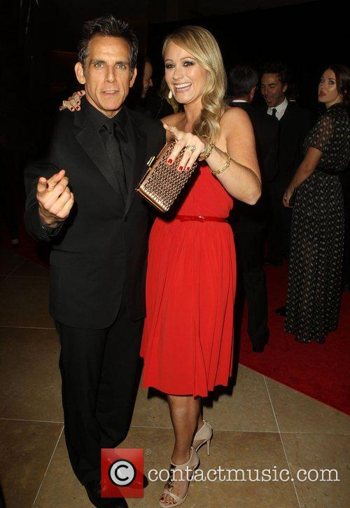 Ben Stiller and Christine Taylor 9