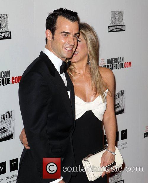 Justin Theroux and Jennifer Aniston 13