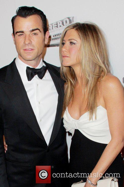 Justin Theroux and Jennifer Aniston 26th American Cinematheque...