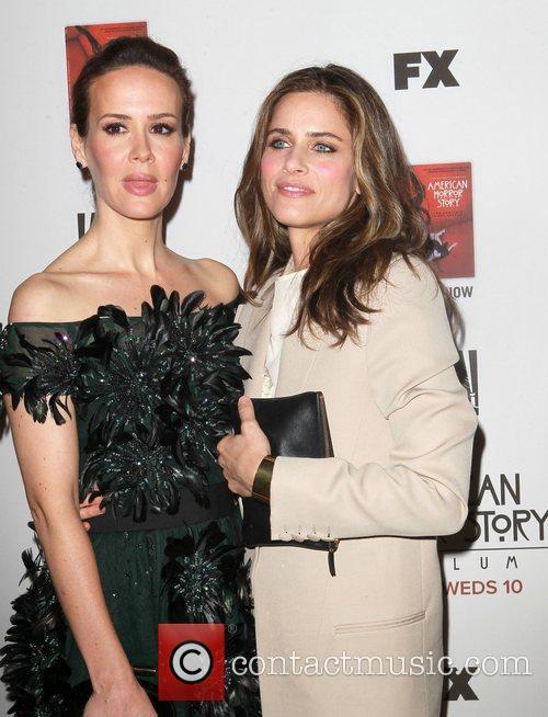 Sarah Paulson and Amanda Peet 4