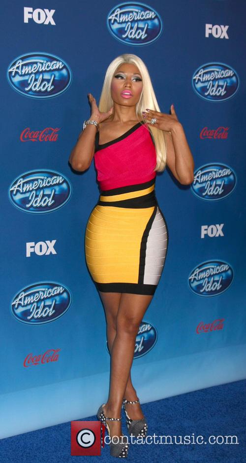 nicki minaj american idol premiere event at 20050466