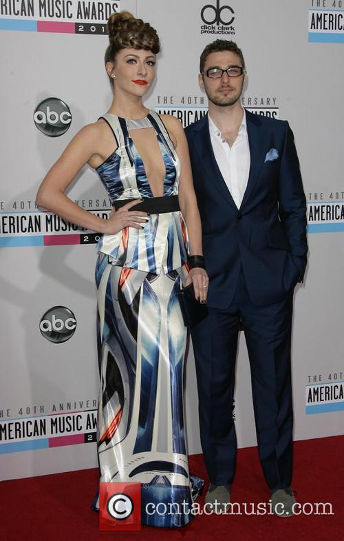 The, Anniversary American Music Awards, Nokia Theatre L., A. Live, Arrivals and American Music Awards 4