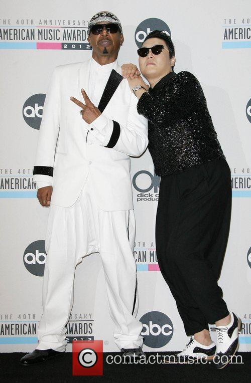 Psy and MC Hammer AMAs
