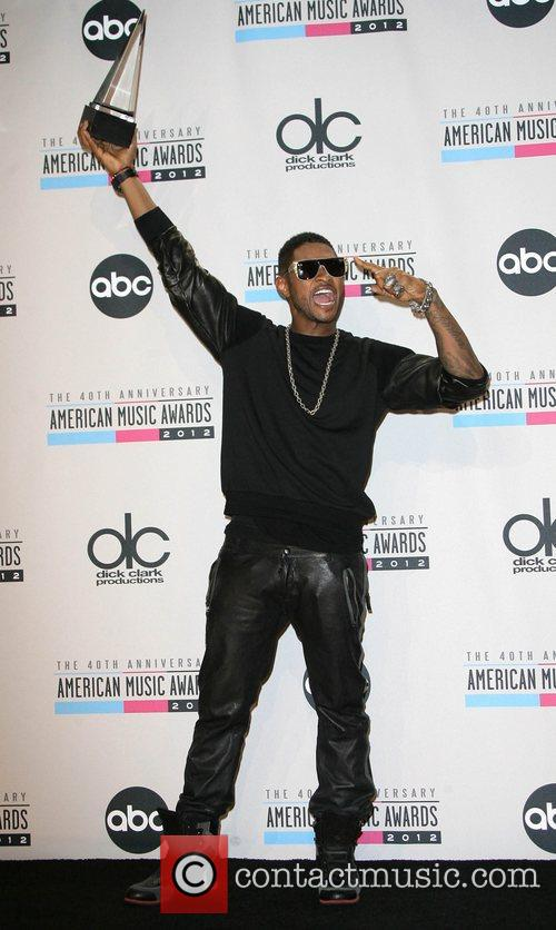 Usher and American Music Awards 1