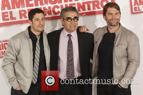 Jason Biggs, Eugene Levy and Seann William Scott 3