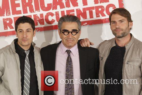 Jason Biggs, Eugene Levy and Seann William Scott