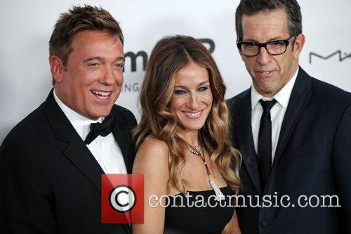 Managing Partner Kevin Huvane, Sarah Jessica Parker and Chairman Kenneth Cole 4