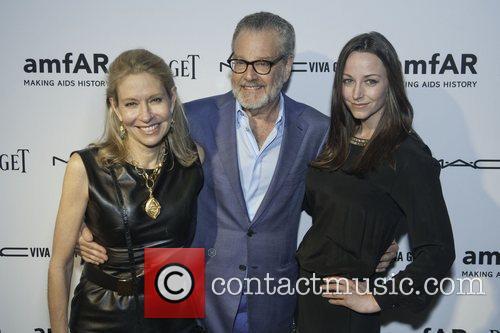 Cindy Richovsky, Howard Rachofsky and Melissa Meeks amfAR...