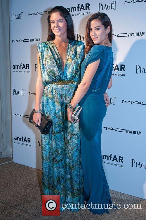 Gaby Endo and Manoela Corradi amfAR inaugural benefit...