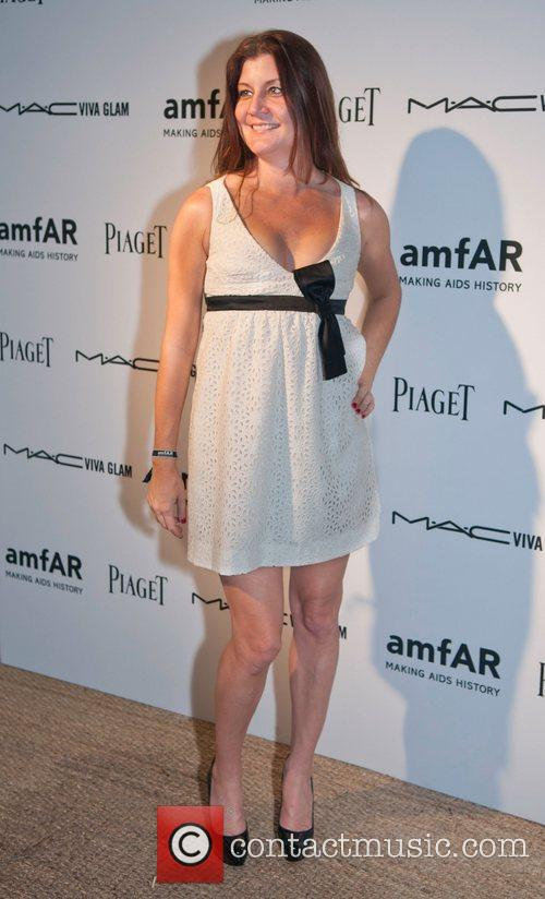Heather Russell amfAR inaugural benefit at the Soho...