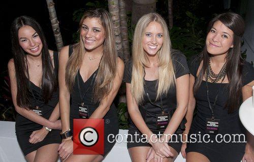 Hostesses amfAR inaugural benefit at the Soho Beach...