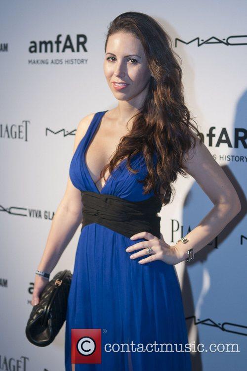 Katerina Azarov amfAR inaugural benefit at the Soho...