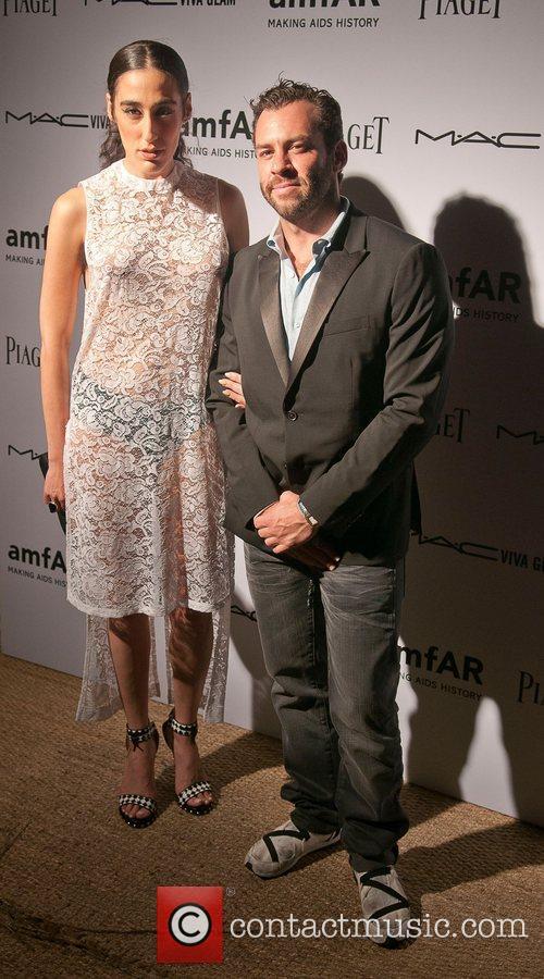 Ladyfag and Josh Wood amfAR inaugural benefit at...